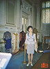 Rosa in the lobby of Mariinsky Theatre. We attended a performance of La Bayadère. This was taken with a cheap 35mm point and shot after our camera was stolen.<br /> F1010025