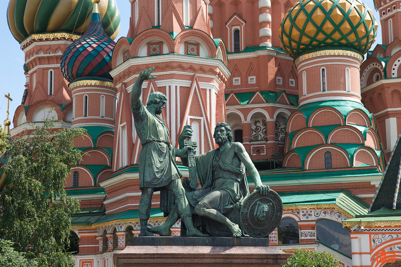 Detail - St Basil's Cathedral. The cathedral was built between 1555-61 on orders from Ivan the Terrible.<br /> IMG_5861