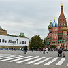 "St. Basil's Cathedral as seen from Red Square where an important announcement from Nikon is displayed - but this ""Nikon"" is not Ivan the Terrible!<br /> September 22, 2011"