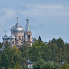 Orthodox Church in a village the ship passed.<br /> September 18, 2011