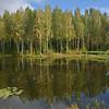 Small lake at Mandrogi Village.<br /> September 17, 2011
