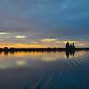 September 18, 2011 sunrise over Kizhi Island/Lake Onega.