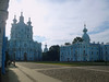 Day 1. Morning tour with bus. On the way in we visited the beautiful Smolny Cathedral