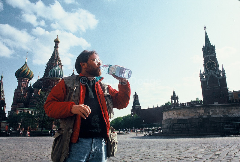 Tom on Red Square.