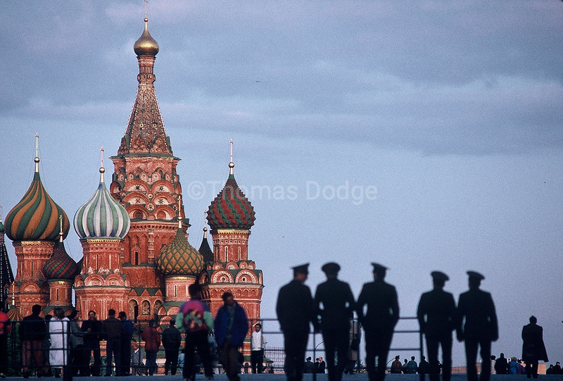 Red Square, St. Basil's Cathedral.