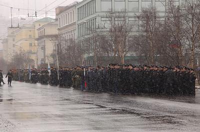 Militærparade i Murmansk 3. mai 2003 (© Ragnar Våga Pedersen)