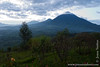 View of Virunga Mountains