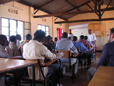 Schools in Rwanda, July 2010