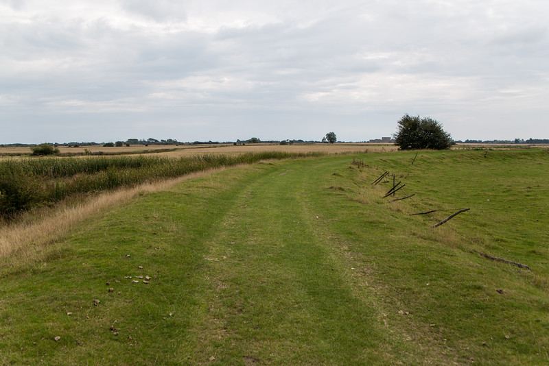 Footpath To Camber Castle