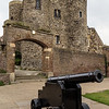 In the Gun Garden at Ypres Tower