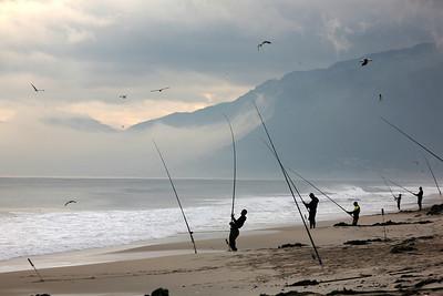 Fishing, False Bay, Cape Town