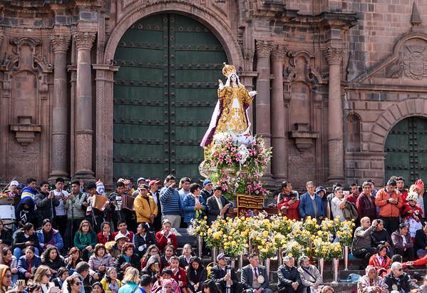 Virgin del Carmen Holy Day #1