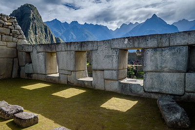 Machu Picchu detail #1