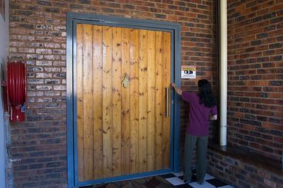 our loft's front door