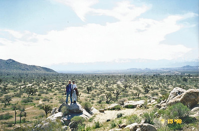 3/15/1998 Dowen Nature trail at the visitor center, Saddleback Butte State Park, Antelope Valley (W. Mojave), Los Angeles County, CA
