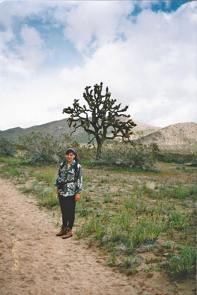 3/14/1998 Saddleback Butte Trail, Saddleback Butte State Park, Antelope Valley (W. Mojave), Los Angeles County, CA