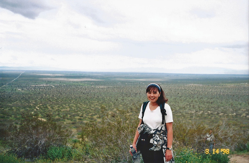 3/14/1998 Saddleback Butte Trail, Saddleback Butte State Park, Antelope Valley (W. Mojave), Los Angeles County, CA
