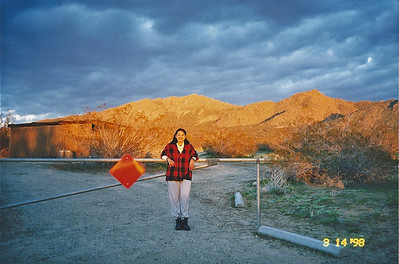 3/14/1998 Saddleback Butte campground, Saddleback Butte State Park, Antelope Valley (W. Mojave), Los Angeles County, CA