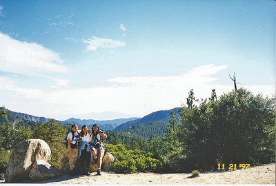 11/22/97 Horse Flats to Mt. Hillyer.