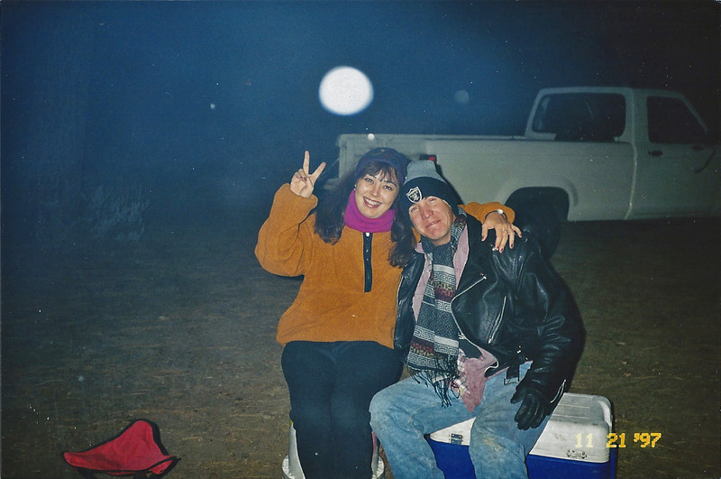 11/21/97 Horse Flats campground.