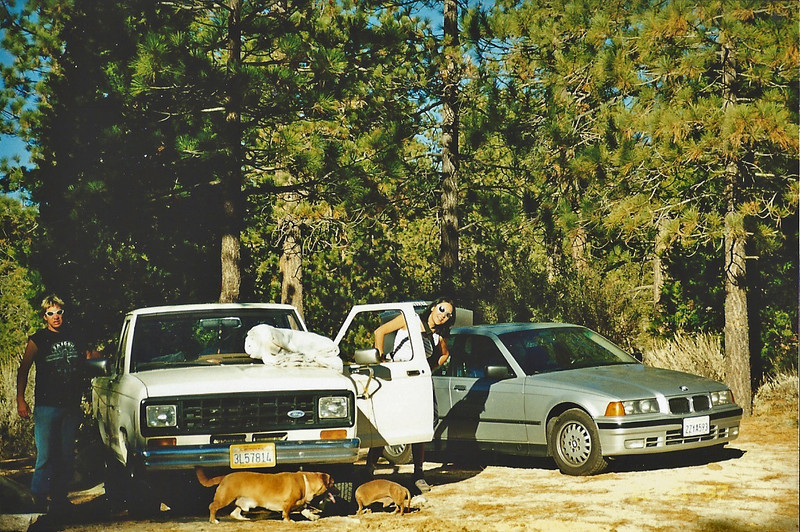 11/22/97 Horse Flats campground. Packing up camp.