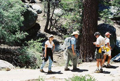 6/12/04 Round Valley Trail. California Native Plant Society (Riverside-San Bernardino Chapter) field trip.