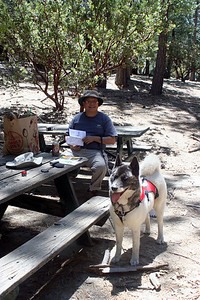 7/12/09 Picnic Area, Idyllwild County Park, San Jacinto Mountains, Riverside County