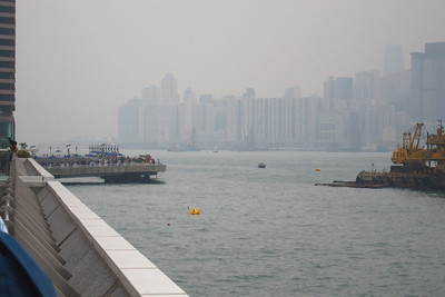 Disappointing hazy weather