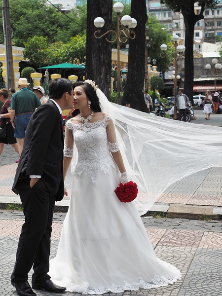 Saigon wedding - or a publicity shot?