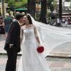 Saigon wedding - or a publicity shot?
