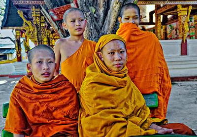 Laos_LuangPrabang_WatManorom_NoviceMonks-9648