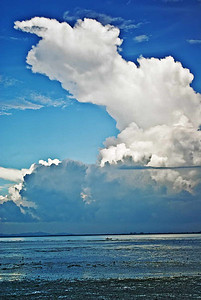 Georgetown Bay Clouds n Boat2-5333WEb800