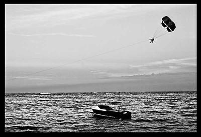 Parachute Above Boat-525monoWeb800