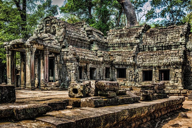 Ta Prohm temple, Angkor Temple complex, Siem Reap, Cambodia