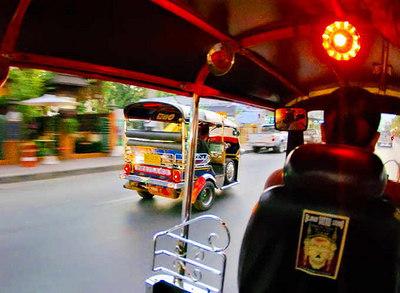 Tuk-tuk cabs, Chiang Mai