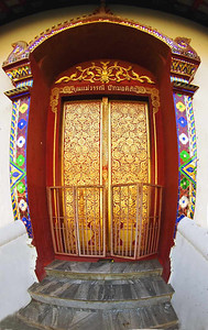 Chaing Mai Temple Side Door