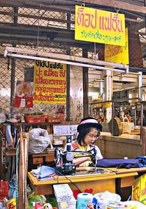 Seamstress, Chiang Rai Central Market