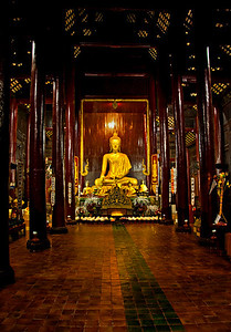 20101218_Thailand_Chiangmai_WatPanTao-6673