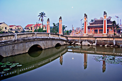 Early morning, Hoian, Vietnam