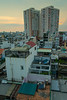 Evening cityscape from Ramana Hotel Saigon in Ho Chi Minh City (Saigon) in Vietnam, May 2015. [Ho Chi Minh City 2015-05 046 Vietnam]