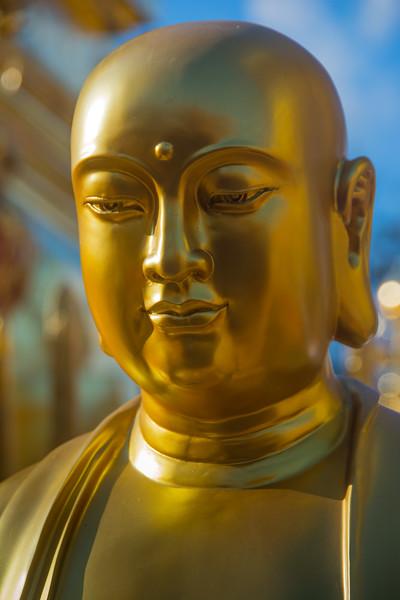 Buddhist statue at Doi Suthep, Chiang Mai, Thailand, November 2014. [Doi Suthep 2014-11 004 ChiangMai-Thailand]