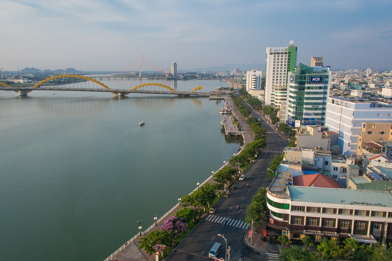 Da Nang in Central Vietnam, May 2015. [Da Nang 2015-05 001 Vietnam]