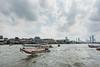 May tourist boats ply the waters of the river that runs through Bangkok, October 2018. [Bangkok 2018-10 011 Thailand]