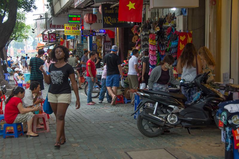 Some of the tourist areas remind me of Bali. Ho Chi Minh City (Saigon), Vietnam, May 2015. [Ho Chi Minh City 2015-05 020 Vietnam]