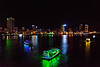 Night lights and boats on the river at Da Nang, Vietnam, May 2015. [Da Nang 2015-05 011 Vietnam]