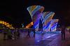 Night lights on the riverfront, Da Nang, Vietnam, May 2015. [Da Nang 2015-05 043 Vietnam]