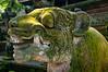 Feline statue at Monkey Forest, Bali, Indonesia, June 2013. [Bali Ubud 2013-06 001 Indonesia_TC]