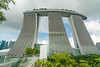 The Marina Bay Sands Hotel near Gardens By The Bay in Singapore, November 2914. [Singapore 2014-11 003]