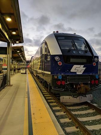 SEA - San Diego by Amtrak August 2018
