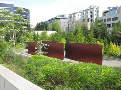 Wake, Richard Serra, 2004. Seattle Art Museum Sculpture Park.